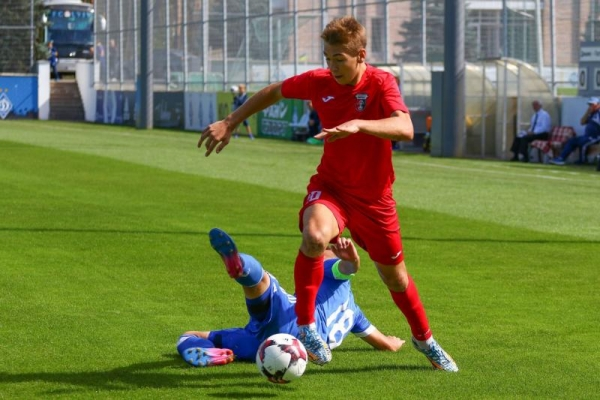 Молодіжка рівненського «Вереса» здобула вольову перемогу над київським «Динамо»