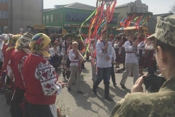 У Володимирці пройшов фестиваль «Великодня вруна»