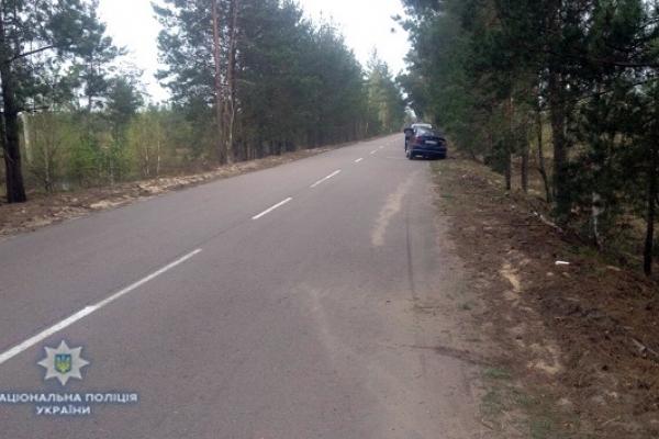На Рівненщині водій напідпитку наїхав на мотоцикліста (Фото)
