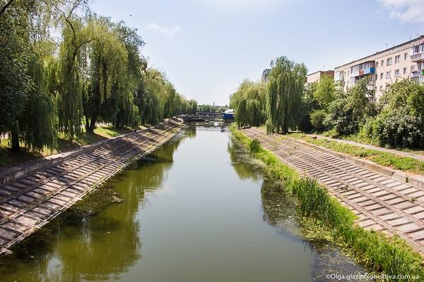 На річці в Рівненській області спорудять фонтани (Відео)