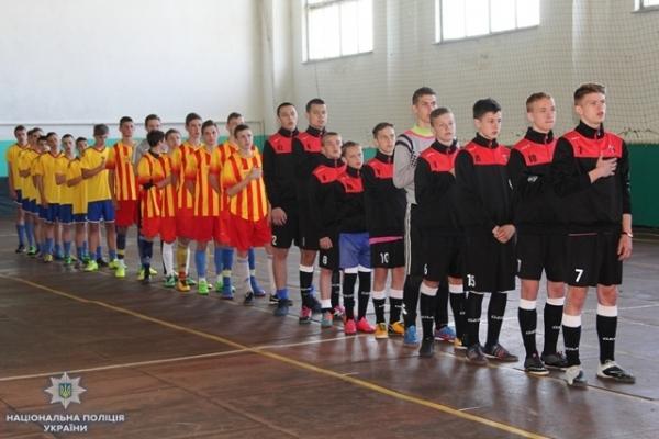 На Рівненщині поліцейські провели футбольний турнір для дітей «FOOTBALL FOR KІDS»