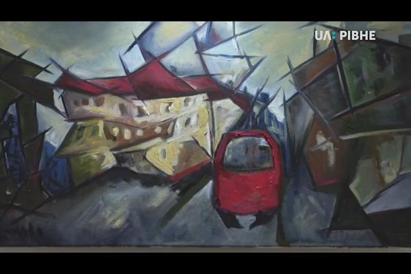 Гламурний реалізм експонують у Рівному художниці з дорослої школи живопису (Відео)