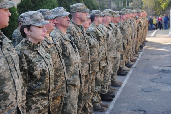Військові правоохоронці з Рівного вибули в АТО для підтримання військової дисципліни