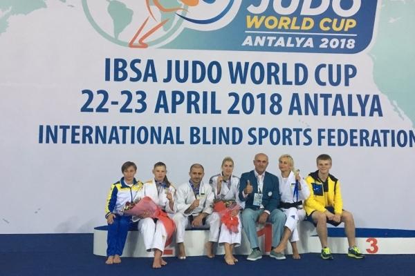 Кубок світу з дзюдо серед спортсменів з вадами зору відбувся на Рівненщині (Фото)