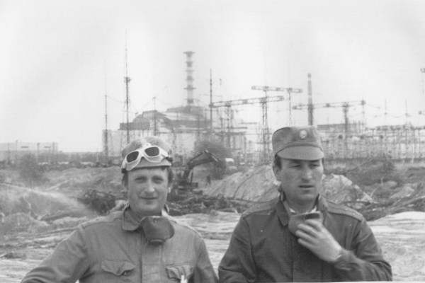 Рівнянин Микола Гайбонюк керував роботами на ліквідації Рудого лісу