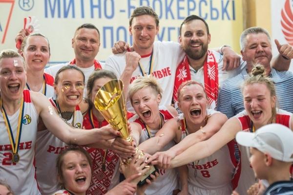 БК Рівне - бронзовий призер української Суперліги серед жінок