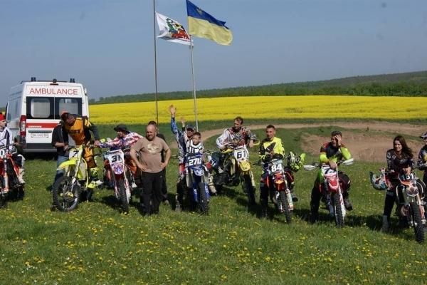 На Рівненщині відбулися змагання з мотокросу