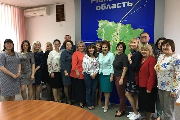 Рівненщину відвідала делегація з Дніпра (Фото)