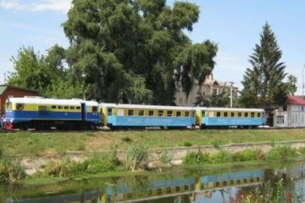 У Рівному розпочався сезон на дитячій залізниці (Фото)