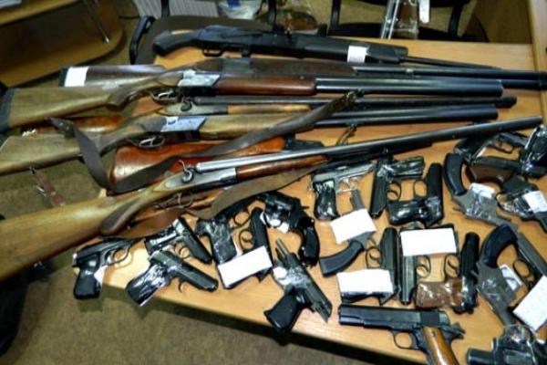 1690 одиниць зброї та вибухівки вилучили рівненські поліцейські