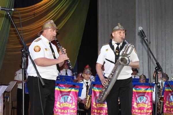У Рівному виступав духовий оркестр ДСНС України (Фото)