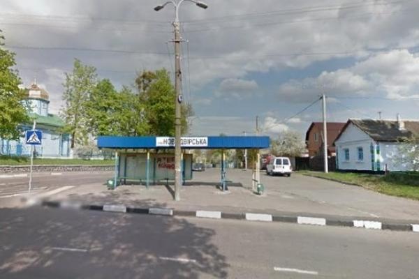 У Рівному у районі Нового Двора поблизу церкви маршрутка більше не зупинятиметься