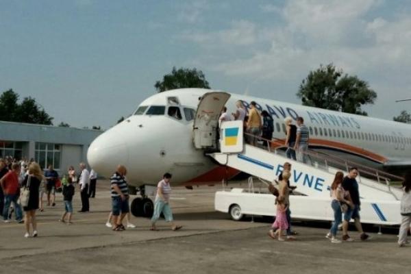 На Рівненщині у владі затвердили Програму підтримки Міжнародного аеропорту «Рівне»