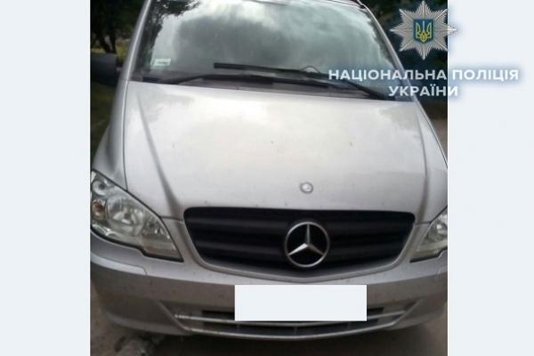 На Рівненщині поліцейські виявили авто, яке викрали у сусідній області (Фото)