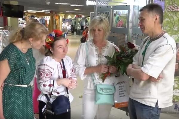 Рівненська фотомайстриня Надія Чулаєвська презентувала свій особливий світ (Відео)