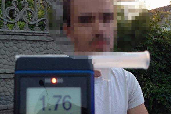 У Рівному водій за порушення ПДР отримав три адмінпротоколи (Фото)