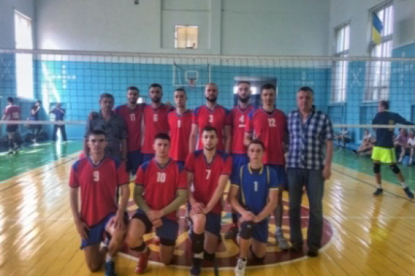 Волейбольна команда НУВГП стала срібним призером студентського Чемпіонату України