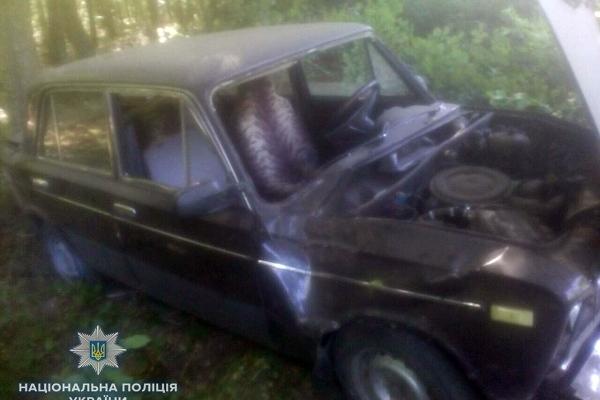 У ДТП на Рівненщині постраждали водій та пасажир (Фото)