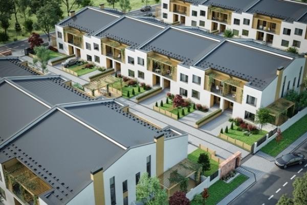 Омріяне житло може стати реальністю – у Рівному на Щасливому споруджують котеджне містечко за євро стандартами