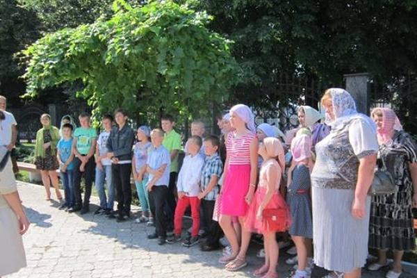 Рівне відвідали  вихованці недільної школи з села Добрятин Млинівського району