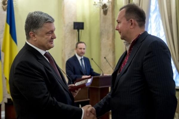 Працівника РДА з Рівненщини відзначили у столиці (Фото)