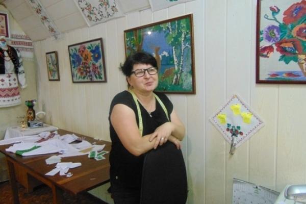 У Рівному на ринку Дикого Ірина Дубич  перетворила своє ательє на музей