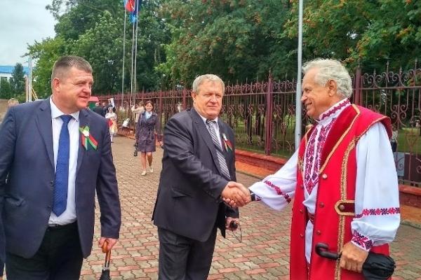 Делегація з Рівненського Полісся долучилась до святкування Дня незалежності Білорусії