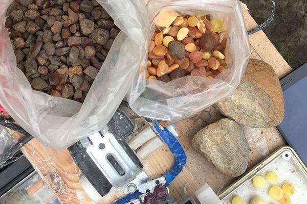 На Рівненщині ліквідовано діяльність підпільного цеху з обробки бурштину та вилучено дорогоцінне каміння орієнтовною вартістю майже 2,3 млн грн (Фото)