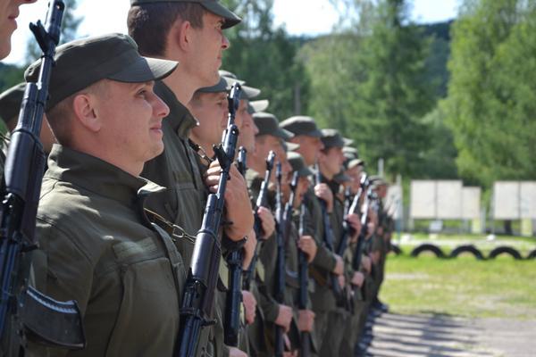 У Львові розпочались військові збори з підготовки резервістів