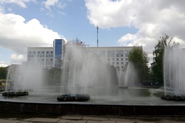 Як у Рівному працюють фонтани?