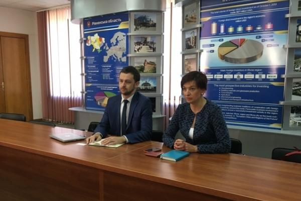 Нові інвестиції: Рівненська ОДА співпрацюватиме з UkraineInvest