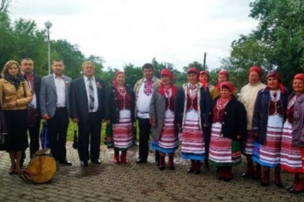 Керівники поліських районів святкували разом із білорусами