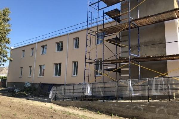 Скоро вихованці Мирогощанського інтернату переселяться у новий корпус