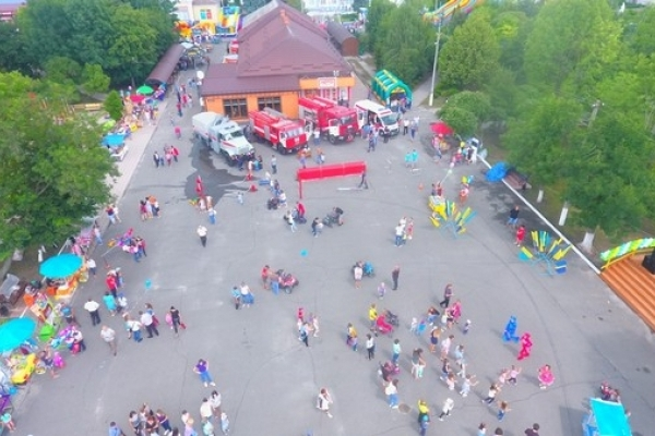 Рятувальники на Рівненщині влаштовують цікаві розваги для дітей та дорослих (Фото)