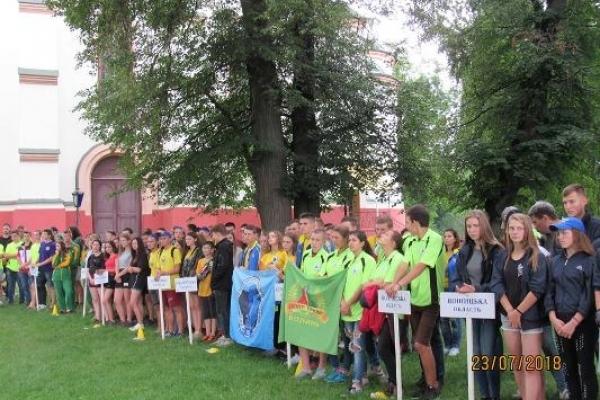 47 Чемпіонат України з пішохідного туризму, що проходив на Рівненщині,  визначив трійку лідерів