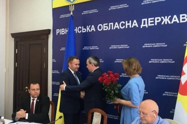 Голова Рівненської облдержадміністрації Олексій Муляренко представив нових заступників