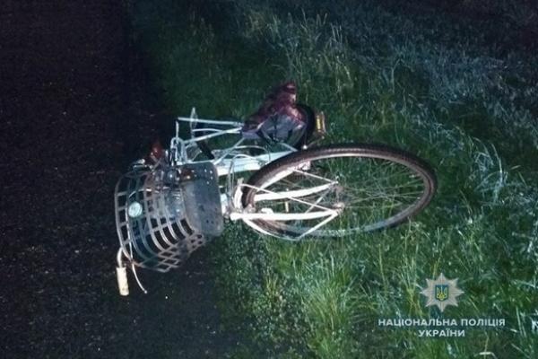 На трасі «Київ-Чоп» загинув велосипедист (Фото)