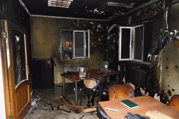 У Рівному з'ясували, хто підпалив офіс місцевих журналістів (Фото)