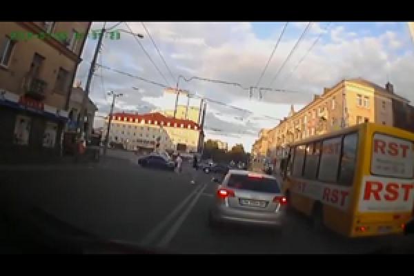 Рівненського дрифтера позбавили прав (Відео)