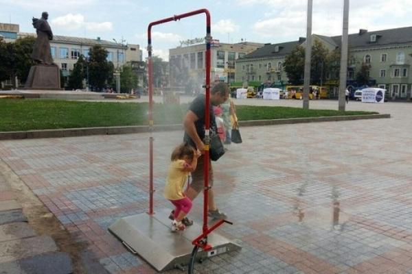 Рівнянам та гостям міста пропонують освіжитися (Фото)