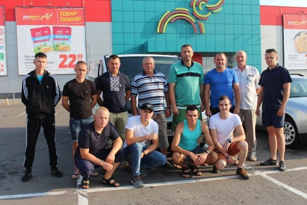 Рівненські добровольці-вогнеборці вирушили до Польщі (Фото)