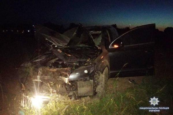 На Рівненщині нетверезий водій насмерть збив велосипедиста (Фото)