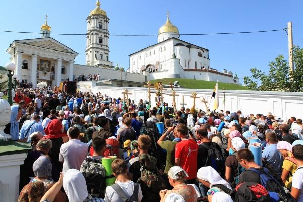 Завершився Міжнародний Хресний хід Польща-Білорусь-Волинь-Почаївська Лавра (Фото)
