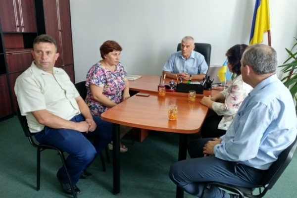 Перспективи створення  ОТГ обговорили у Дубровиці на Поліссі