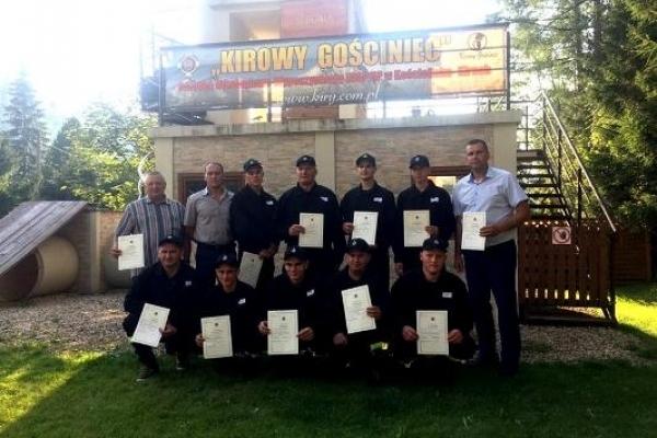 Рівненським вогнеборцям-добровольцям допомагають польські колеги