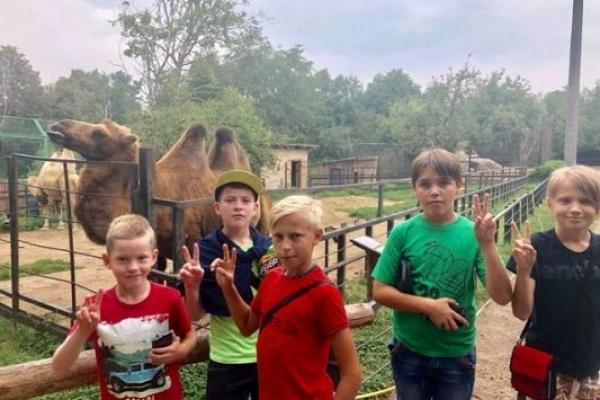 Діти з Луганщини оздоровлюються на Рівненщині