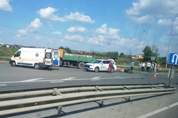Смертельна ДТП поблизу Рівного: загинув мотоцикліст (Фото)