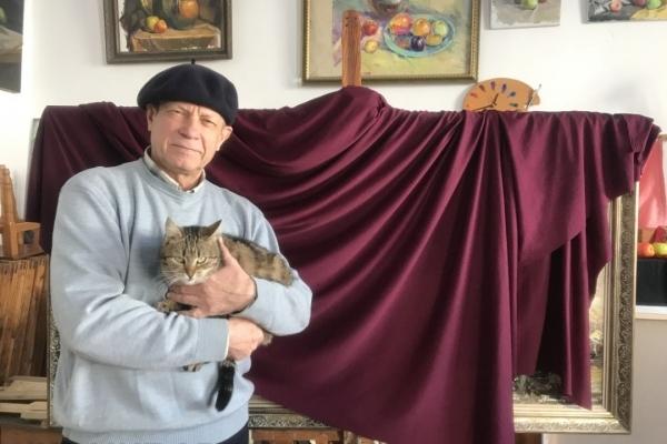 Відомому рівненському художнику Анатолію Іваненку вручили відзнаку «За заслуги перед містом»! (Фото)