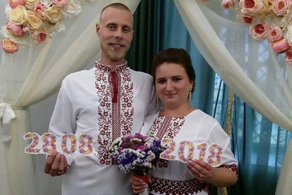 У Дубенському замку одружилась ювілейна, пара 50-та наречених
