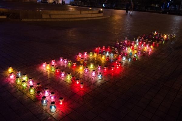 Четверті роковини Іловайська: у Рівному пом'янули полеглих Героїв (Фото)